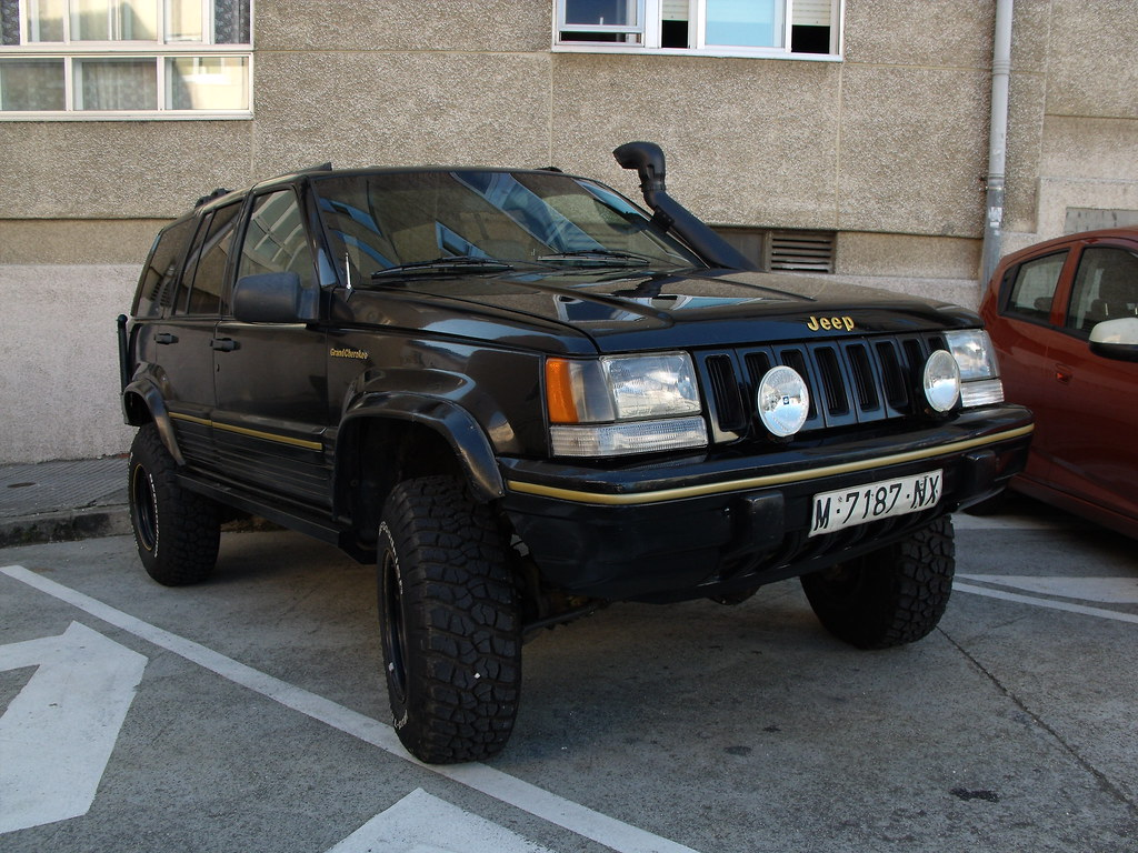 1992 jeep grand cherokee 5 2 v8 us spec fiattipoelite flickr. Black Bedroom Furniture Sets. Home Design Ideas
