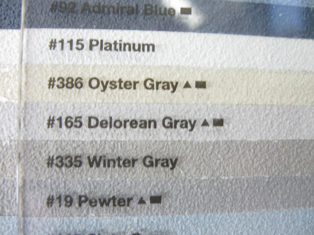 Platinum Gray Color