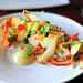 summer SQUASH and 24-hour 'ox heart' CARROTS in a cool salad