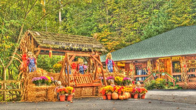 Twin Creek Rv Resort Gatlinburg Tennessee Hdr