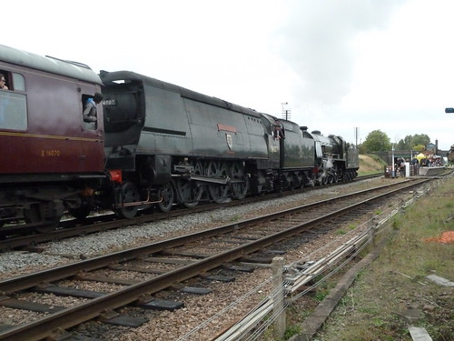 30777 Sir Lamiel & 34007 Wadebridge | by gooey_lewy