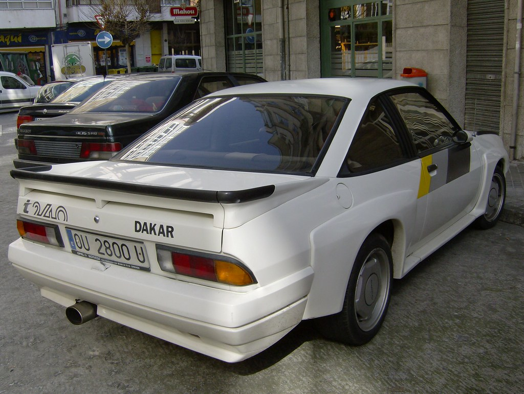 1985 Opel Manta I240 Dakar Special Edition Made By