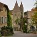 Châteauneuf-en-Auxois, la place du Village