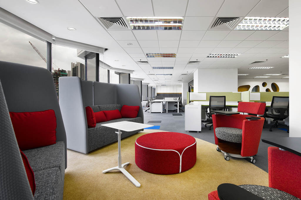Creative office design by m moser associates m moser for One room office interior design