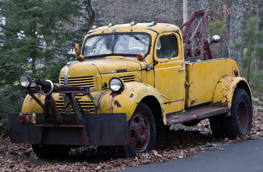 1939 1947 Dodge Job Rated Tow Truck A 1939 1947 Dodge