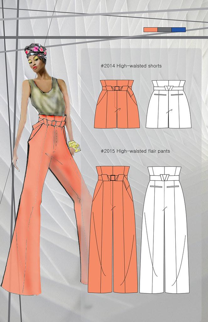 Clothing Design Portfolio | Fashion College Student Portfolio The Fashion Design Portf Flickr