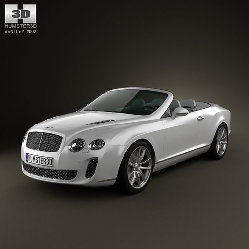Bentley Continental Supersports Convertible 2011