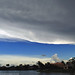 Huge Thunderstorm Anvil Canopy Blow-Off