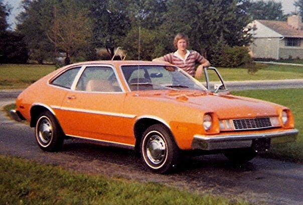 My 1977 Ford Pinto Me And My 1977 Ford Pinto At The