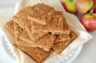 Raw Apple Cinnamon Almond Bars | by Yack_Attack
