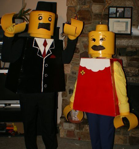 ... lego man woman halloween costumes best | by ex landscaper guy & lego man woman halloween costumes best | Lego Man and Woman u2026 | Flickr