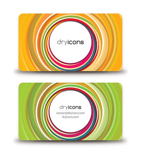Circular Business Card | by DryIcons