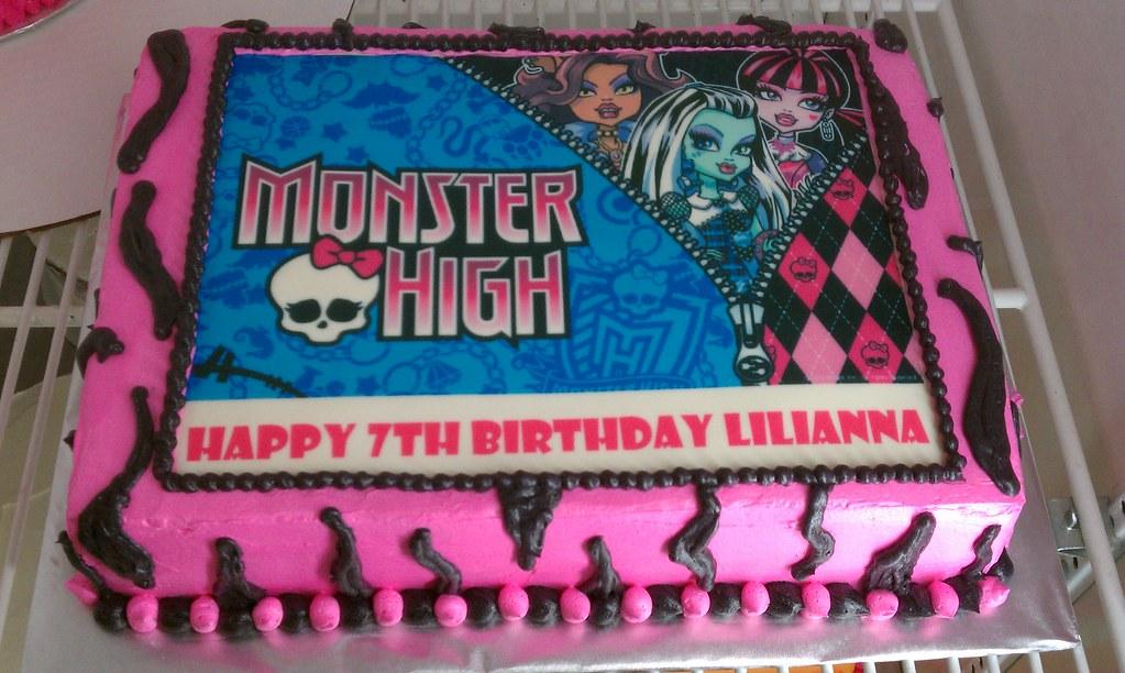 Monster High Birthday Cake Beverly Flickr