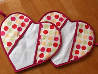 heart potholders | by Tanya H.