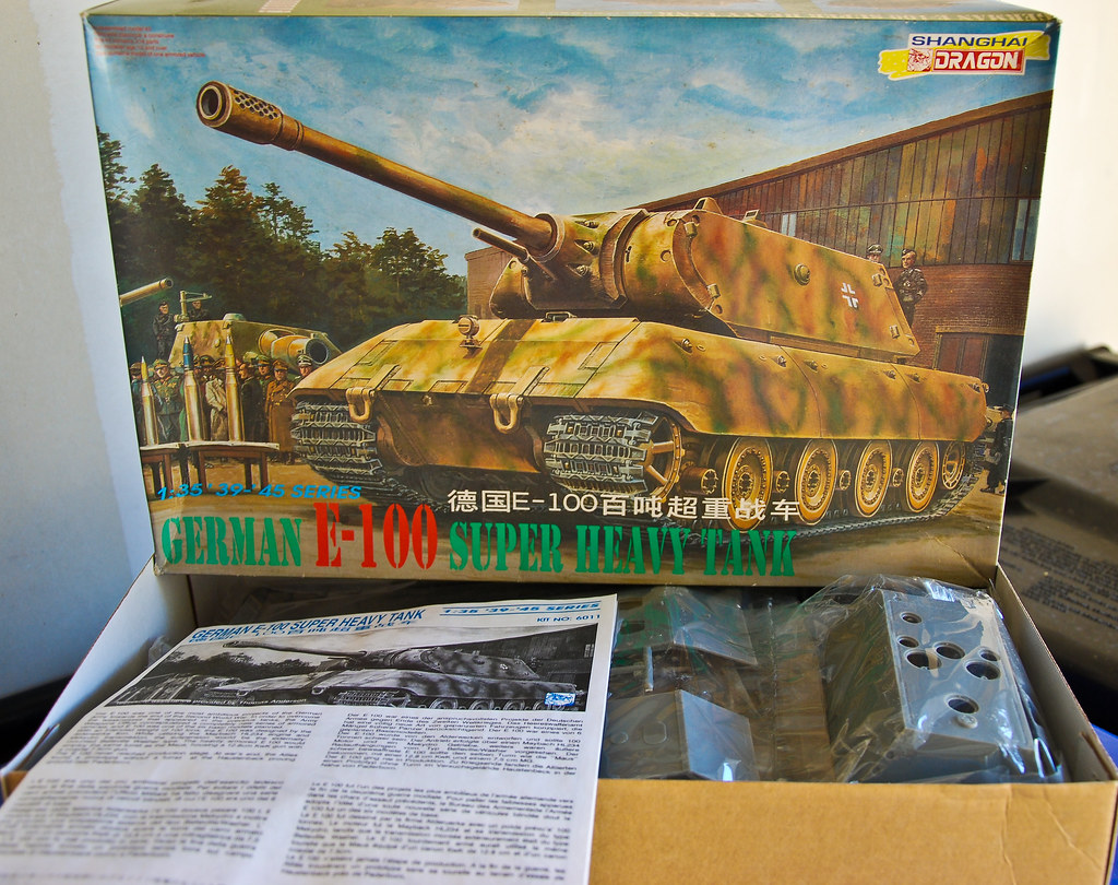 Shanghai Dragon 1997 Kit 6011 1/35 scale Panzerkampfwagen … | Flickr