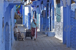 077. Going to the Market, Chaouen, Morocco _ | by Charlottine'sPics - ingridstainier.com