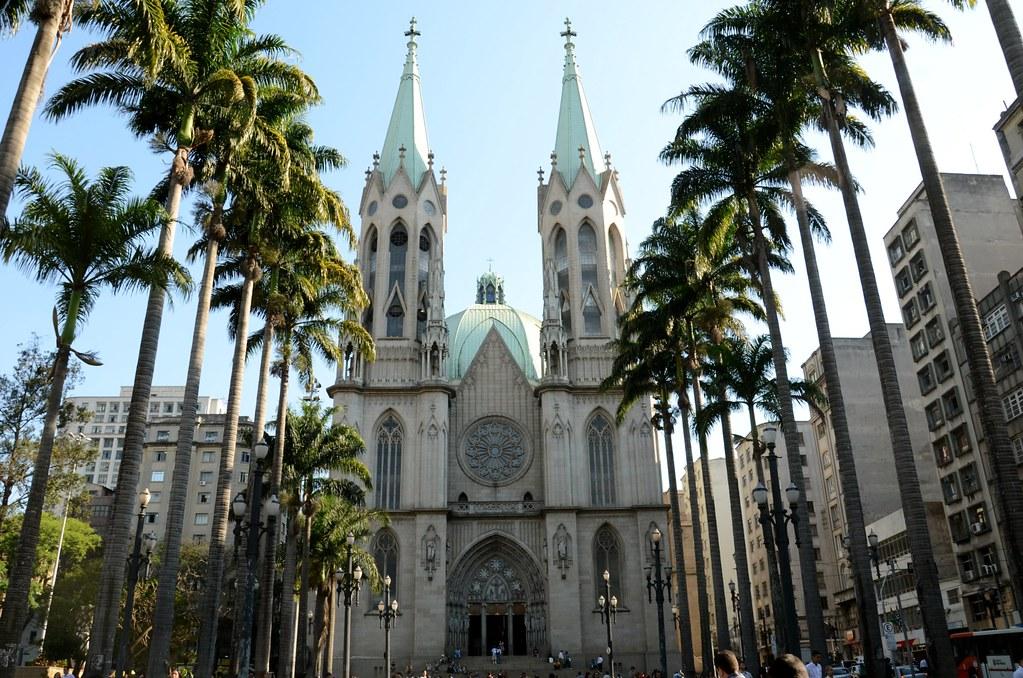 Catedral Metropolitana De S 227 O Paulo A Catedral