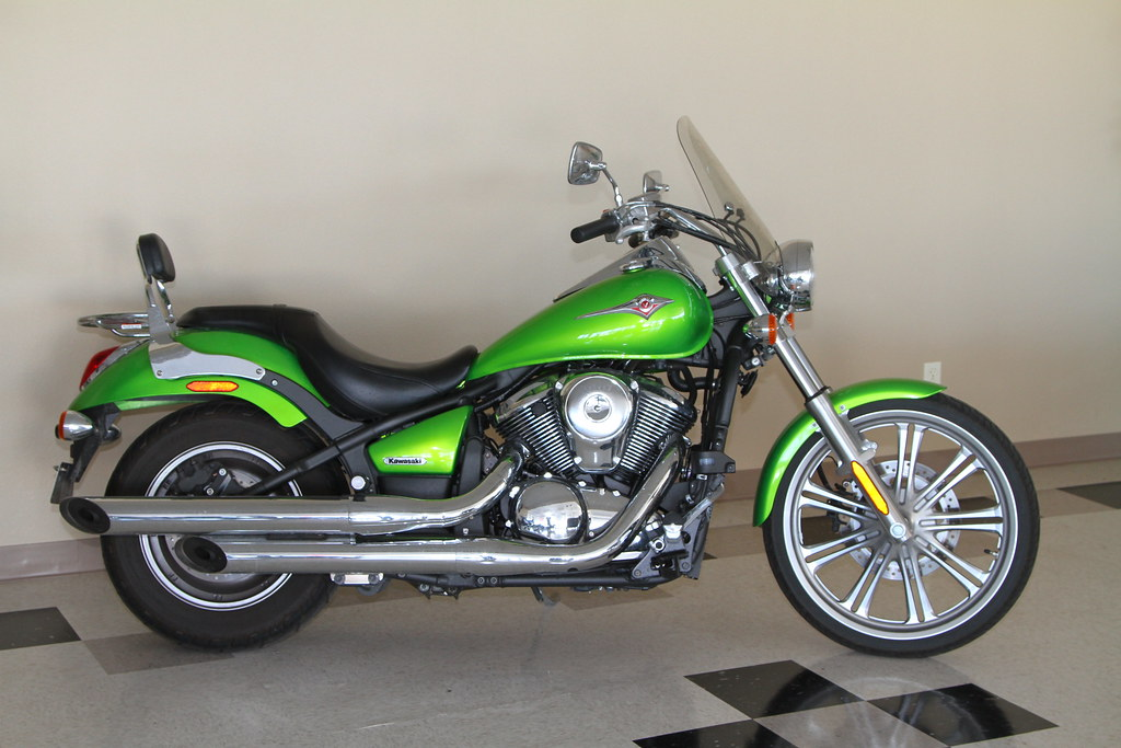 Kawasaki Vulcan  That Has Been Sitting For Awhile