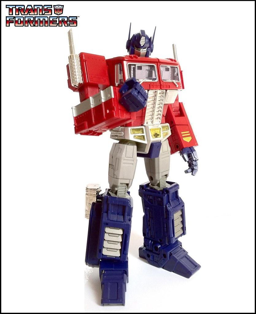 Transformers Masterpiece Mp 10 Convoy Masterp Flickr Optimus Prime By Deadmannasser