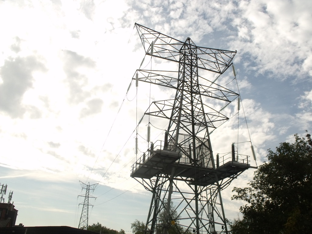 Electricity Pylons From Mary Vale Road Stirchley Bournvi