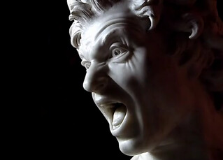Bernini, Damned Soul, 1619 | by arthistory390