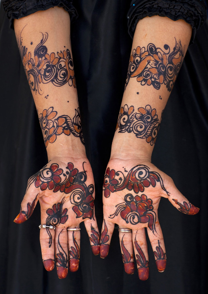 Egyptian Henna Designs: Henna Designs On Hands And Arms - Lamu Kenya