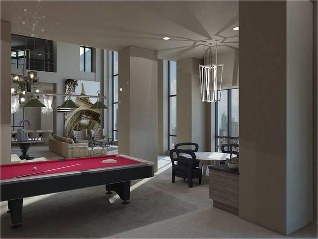 Natalia Zurowska Interior Design Thesis Elisian And Ritz Carlton Penthouse Harrington College Of Chicago