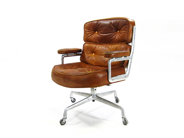 vintage herman miller time life executive chair this flickr