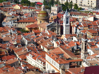 The rooftops of Old Nice, Provence, France | by Kumukulanui