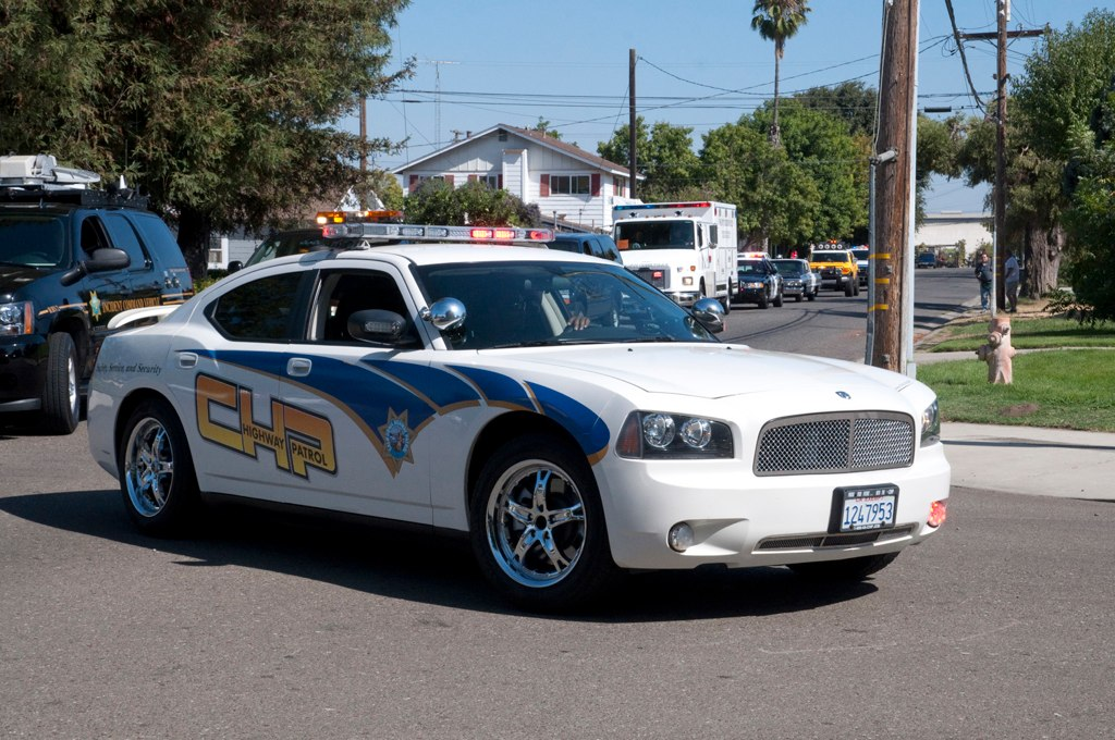 CHP Dodge Charger Recruiting Code 3 Parade Reds and Turn   Flickr