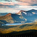 Table Rock Sunrise - Caesar's Head State Park Landscape