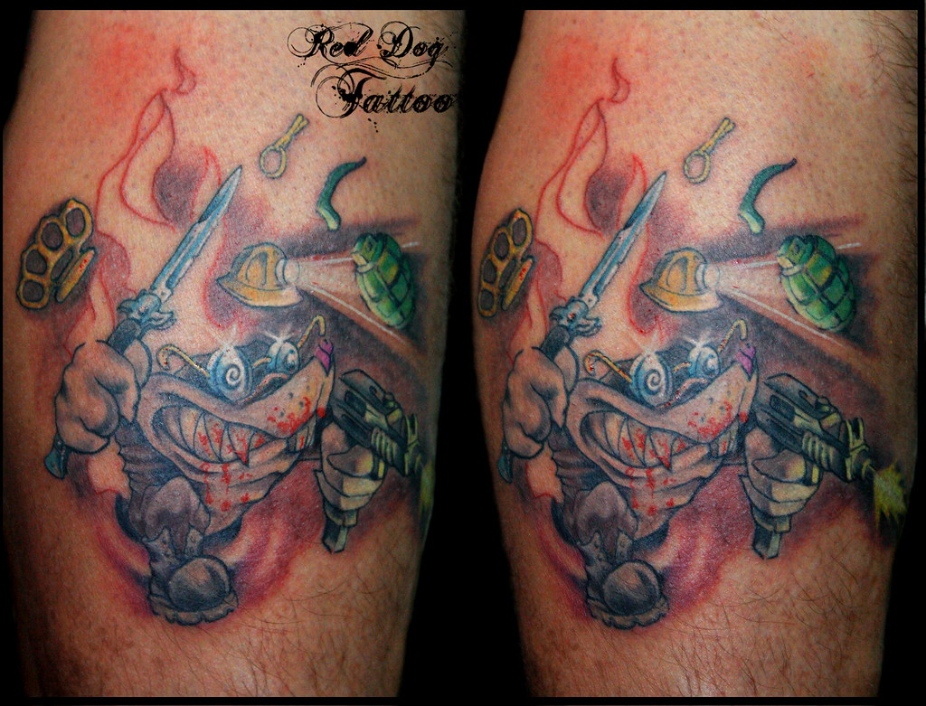 Pete 39 s angry mole first session not finished yet done for Tattoo mole on face