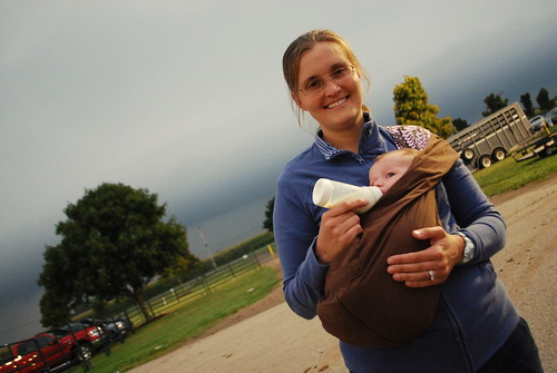 I love the way you wear your baby, pouch | by Stephanie Precourt
