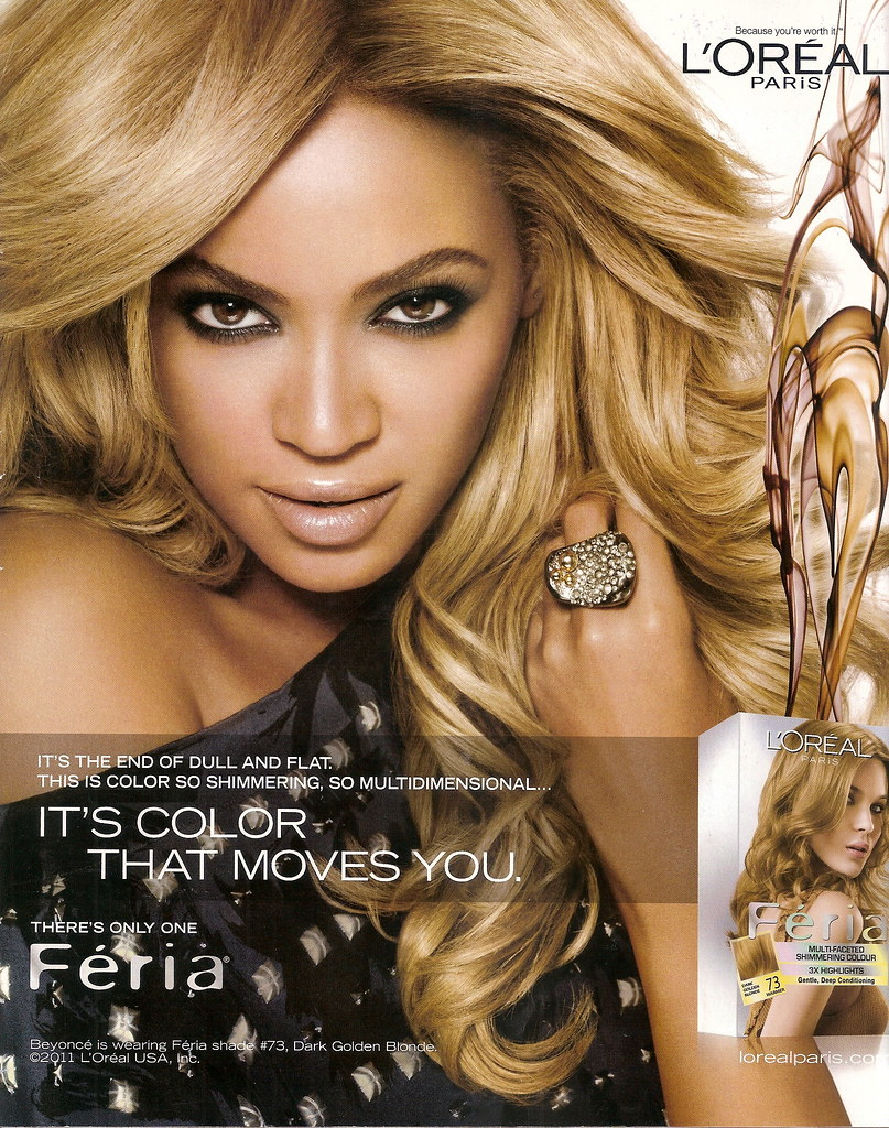 Beyonce Knowles L Oreal Serenity Forbes Flickr