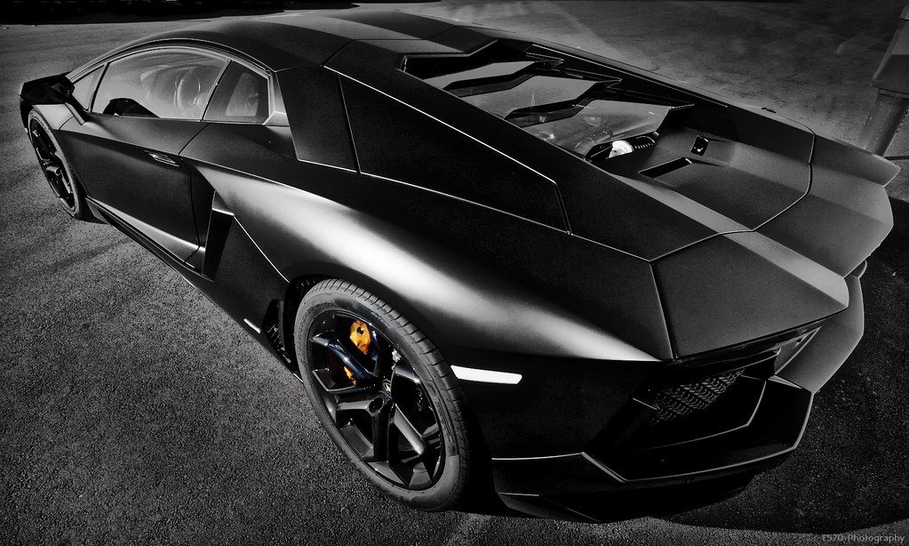 Lamborghini Aventador Nero Nemesis 2 From Hell Theo Flickr