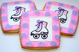 Skating Birthday Cookies | by Cookie Couture, LLC