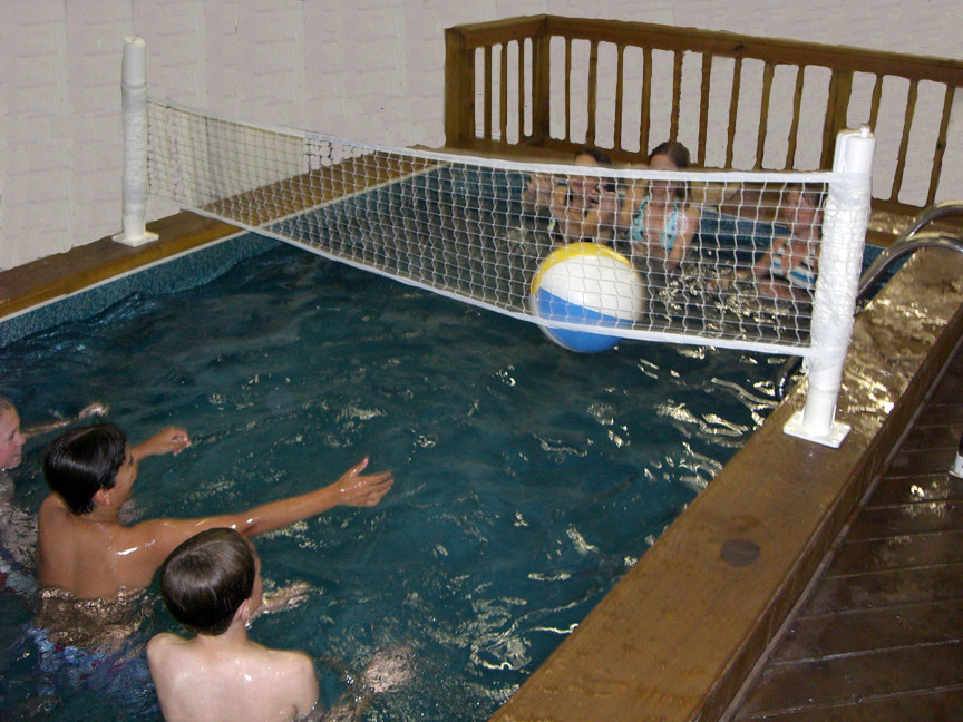 Medallion Pools Ultra Swim Spa Indoor With Wood Deck And V… | Flickr
