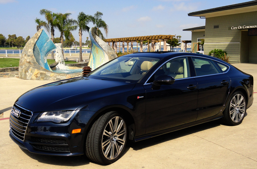 2012 Audi A7 In Moonlight Blue Metallic Maria Palma Flickr