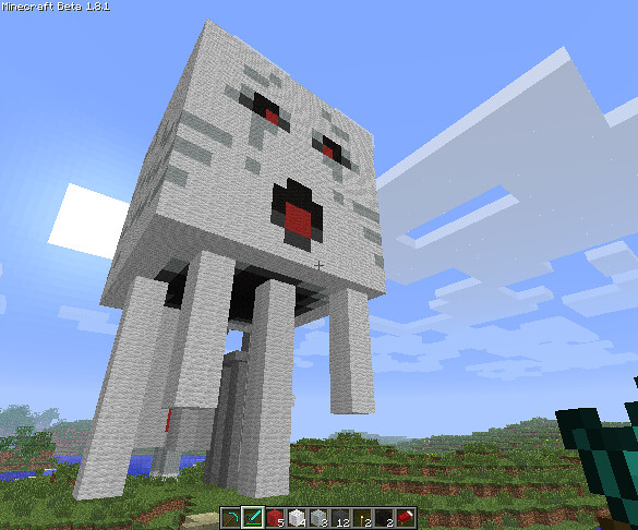 How To Build A Dragon In Minecraft Wii