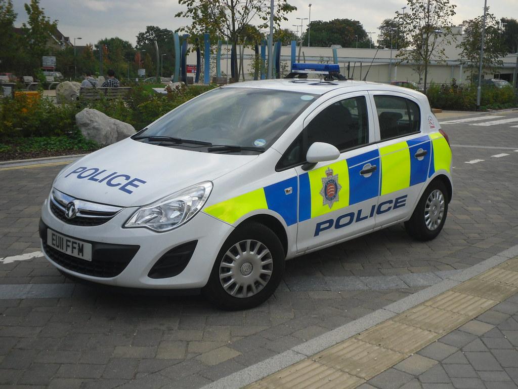 Essex Police Vauxhall Corsa Patrol Car Cu18 Eu11 F