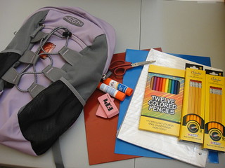 Backpack Donation with Schoolhouse Supplies at Woodlawn Elementary (1) | by KEEN Footwear