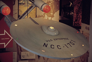 TOS Enterprise, 1979, Smithsonian Air and Space Museum, Washington, top view | by birdofthegalaxy