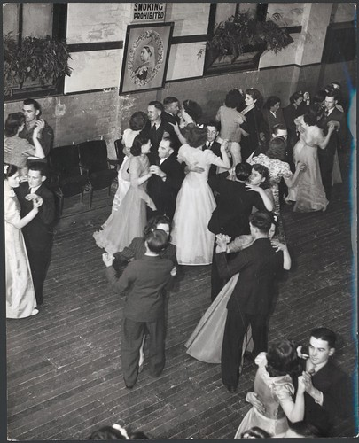 Dancers in the Soldier's Memorial Hall, Drouin, Victoria | by National Library of Australia Commons