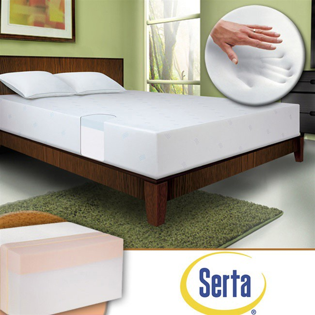 8 Inch Thick Memory Foam Mattress By Serta A Full 8 Inches Flickr