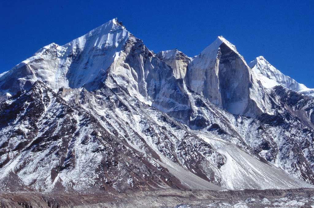 Bhagirathi Peaks Garhwal Himalaya Bhagirathi Peaks