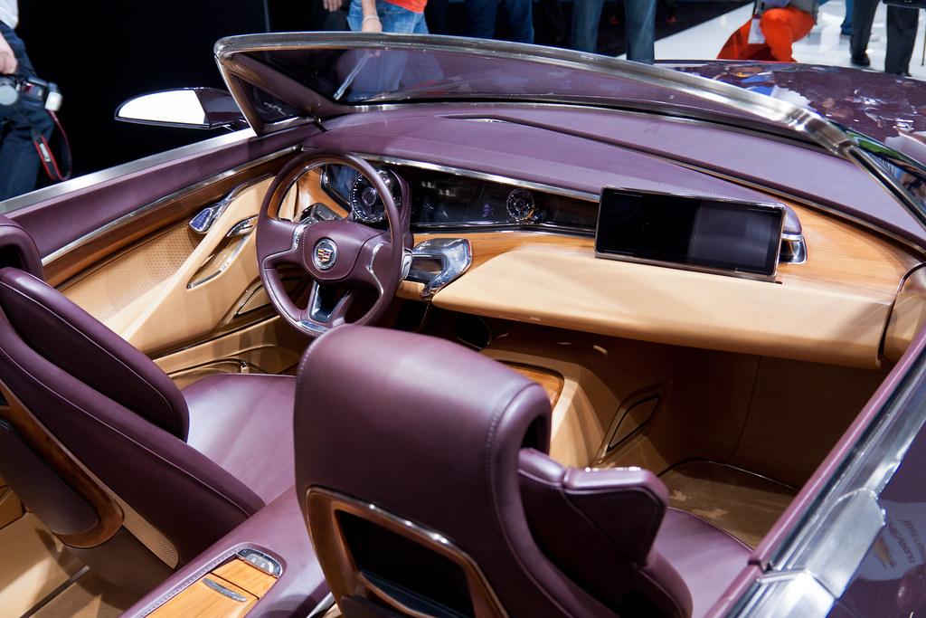 Cadillac Ciel (interior) | Frankfurt IAA 2011 Sigma 17-50mm ...