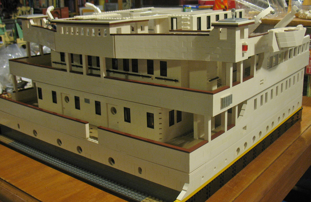 Work In Progress Rms Quot Titanic Quot In Lego This Creation Is