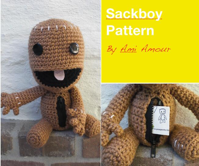 Sackboy na szyde142ku - little big planet