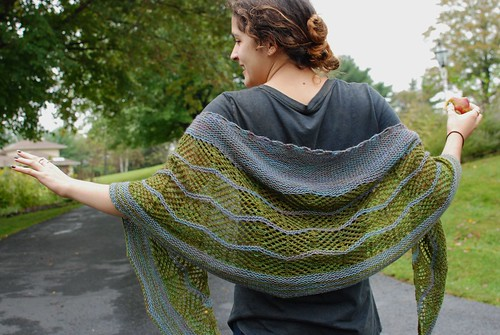 Ziggity Shawl 1 | by throughtheloops