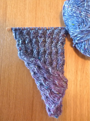 Mock Cable Knit Scarf Pattern : Reversible Mock Cable knit Scarf Original free pattern fou? Flickr